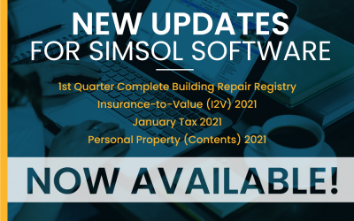 2021 Updates for Simsol Software Now Available